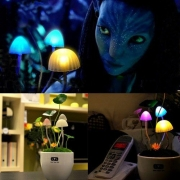 LED Mushroom Lamp Decoration Night Light Gift