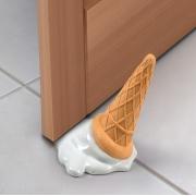 Melting Ice Cream Cone Door Stopper
