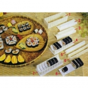 10pcs/Set Sushi Maker Kit Rice Roll Mould Making