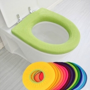 O-shaped Washable Soft Toilet Seat Pad