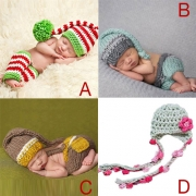 Cute Style Hand-knitted Baby Photography Costume