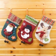 Cute Santa Claus/Snowman/Elk Christmas Socks