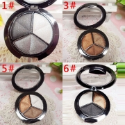 3 Mixed Colors Cosmetic Eye Shadow