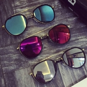 Fashion All-match Mirrored Sunscreen Unisex Sunglasses