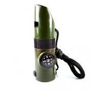 7 In 1 Multifunctional Outdoor Survival Whistle