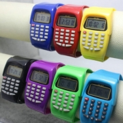 Hot Sale Multi-Purpose Kid's Electronic Calculator Wrist Watch