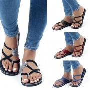 Fashion Flat Heel Crossover Sandals