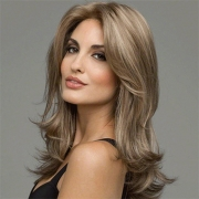 Fashion Middle Curly Wigs