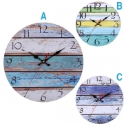 Retro Style Round Shape Wall Clock