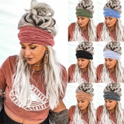 Fashion Solid Color Sports Head Band