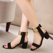 Fashion Thick Heel Open Toe Sandals