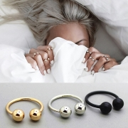 Simple Style Alloy Ring