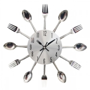 Creative Style Knife & Fork Wall Clock