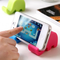 Super Cute Mini Elephant Cellphone Holder Stand for iPhone 5G 5S 4S Galaxy Note 2 3(set of 2,Color randomly)