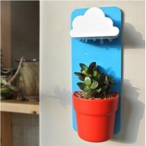 Rain Clouds Pots Rainy Pot Creative Wall-mounted Flower Pot