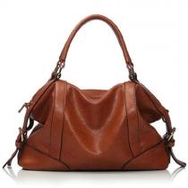 European Style Retro Classical Pure Color Handbag