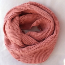 Roman Style Simple Leisure Pure Color Infinity Scarf