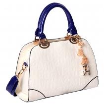 Gorgeous Letters Embossed Pendant Tote Purse Handbag Shoulder Bag