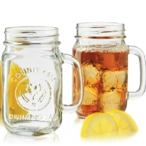 Drinking Jar with Handle