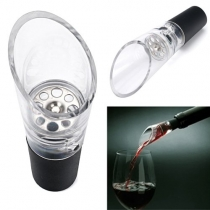 Aerating Decanting Spout for Wine Bottles