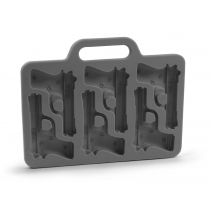 Stylish Gun Shaped Silicone Ice Cube Mould Mold Tray