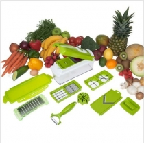 Go Plus Nicer Dicer Multi Chopper Vegetable Cutting Dicing Slicing   Kitchen Gadget Peeler 11different Ways to Cut