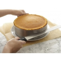 Cake Mould Slicing Bakeware Cake Decor Stainless Steel Supply Ring