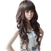 Curly Long Ladies Sexy Women's Wave Full Wigs Party Wig