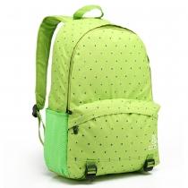 Candy Color Polka Dot School Bag Canvas Backpack
