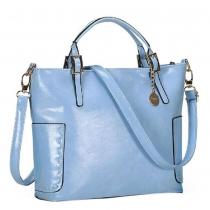 Multicolor Vintage Bucket Handbag Shoulder Bag Cross Body Bag