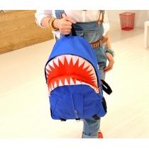 Blue shark backpack