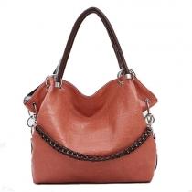 European Style Gorgeous Pure Color Handbag Shoulder Bag