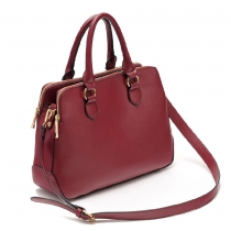 Classy Elegant Solid Candy Color Handbag Shoulder Bag