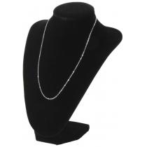 Dimensional Velvet Jewelry Stand,  Black