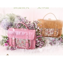 Romantic Retro Classical Sweet Floral Print Clutch Shoulder Bag