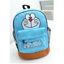 Cute Cartoon Doraemon Bear Print Backpack Shoulder Book Bag