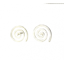 Simple Chic Cute Spiral Earrings Studs