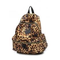 Leisure Stylish Fashion Leopard Print Backpack Bag