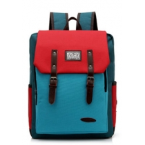 Cute Stylish Candy Colorful Contract Color Canvas Backpack
