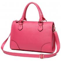 Elegant Candy Solid Color Purse Handbag Crossbody Shoulder Bag