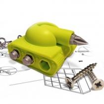 Novelty Tank Screwdriver Set 3-in-1 Key Ring Multifunction keychain Tool(Color randomly)