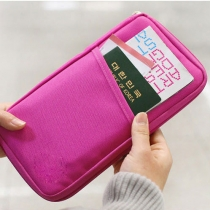 Pure Passport Tickets Function  Travelling Clutch Bag