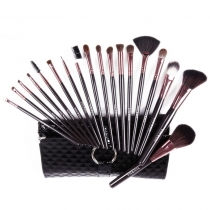 Professional Elegant 18 pcs Makeup Cosmetic Brushes Set Kit with Case