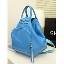 Sweet Candy Pure Color Multi-function Backpack Handbag Shoulder bag
