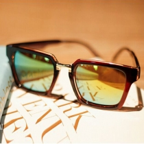 Fashion Metal Square Frame Sunglasses