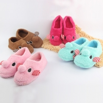 Cute Cartoon-shaped Warm Home Slippers