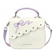 Fashion Rhinestone Bowknot Handbag Cross Body Bag