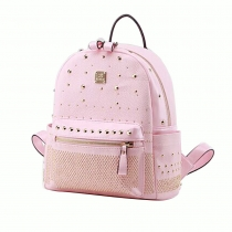 Fashion Round Rivets Backpack School Bag