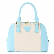 Fashion Contrast Color Handbag Shoulder Bag Cross Body Bag