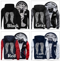 Fashion Casual Long Sleeve Couple Hoodie Coat